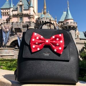 Kate spade New York x Minnie Mouse backpack black